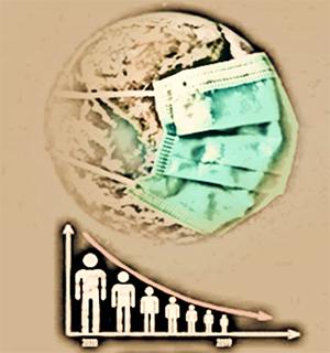 reducción población
